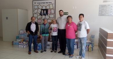 Grendacc recebe doação de Paróquia de Itatiba