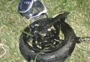 Motociclista sofre acidente grave entre Campo Limpo a Cajamar
