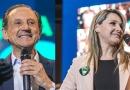 ELEIÇÕES 2018: Paulo Skaf e a tenente-coronel Carla fazem campanha no Calçadão