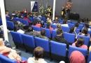"""""""Viagem Literária"""" leva mais de 200 alunos do EJA à Biblioteca"""