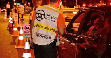 Detran multa 14 motoristas em Operação da Lei Seca