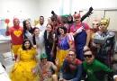 Super heróis visitam hospitais