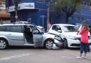 Acidente em cruzamento da Vila Arens