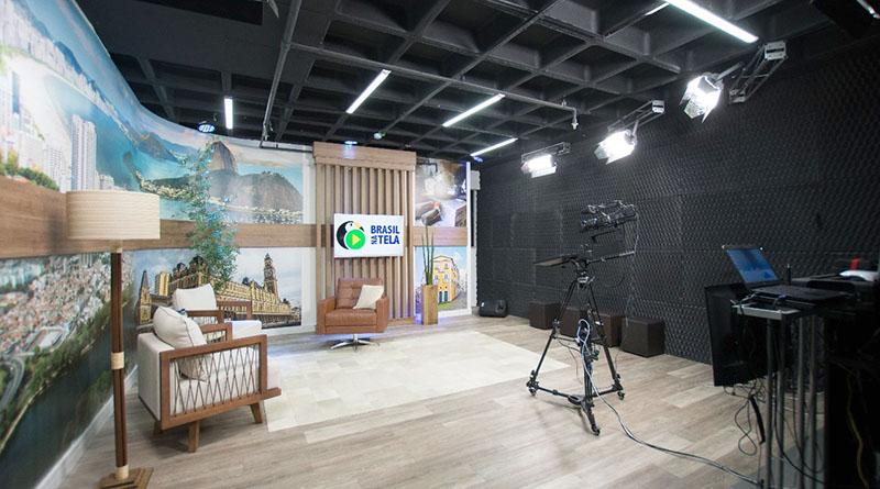 Inaugurado estúdio de TV para empresas e youtubers