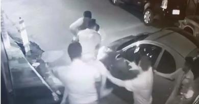 Vídeo mostra PM baleado em briga de trânsito