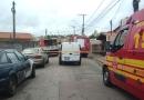 Vazamento de gás faz moradores evacuarem casas