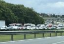 Trânsito é intenso nas rodovias por causa do feriadão