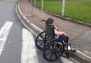 Leitor reclama de falta de acessibilidade