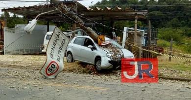 CPFL divulga novo ranking de postes derrubados por veículos