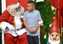 Espaço do Natal Encantado é inaugurado no Centro