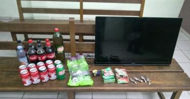 PM de Itatiba prende ladrões de lanchonete