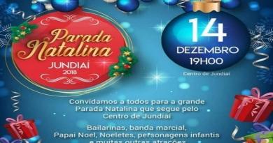 CDL e Sincomercio Jundiaí promovem Parada Natalina nesta sexta (14)