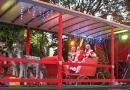 Papai Noel da ACE visita bairros de Jundiaí
