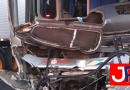 Acidente com ônibus na Anhanguera deixa dez feridos