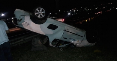 Morre motorista que capotou picape na Rodovia Dom Gabriel