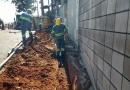 DAE realiza remanejamento de rede de água na região da Vila Progresso