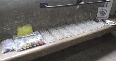 PM localiza fábrica de drogas em Campo Limpo