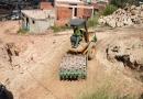 Obras de asfalto avançam no Jardim Palermo