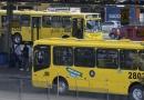 Ônibus circulam normalmente