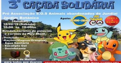 Jundiaí recebe a 3ª Caçada Solidária de Pokémon Go