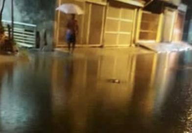 Chuva na madrugada atingiu 77mm