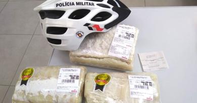 PMs em bike prendem ladrão de bacalhau