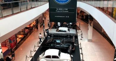 Segue até domingo a 2ª Exposição de Carros Antigos do JundiaíShopping