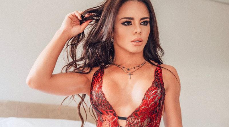 Nanny Azevedo veste lingerie da Vipagi