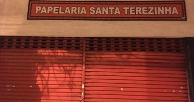 Papelaria Santa Terezinha encerra atividades