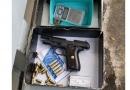PM apreende arma e munições em Jarinu