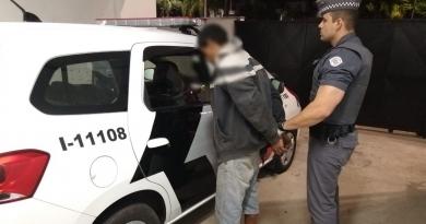 PM prende ladrão que roubou estudantes