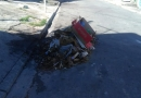 Moradores reclamam de lixo e entulho jogados na rua
