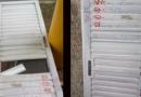 Vândalos danificam portas de banheiros em Terminal