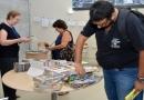 Biblioteca promove feira de troca de livros