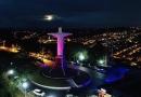 Cristo volta a iluminar Campo Limpo Paulista