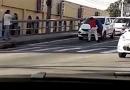 Homens brigam em viaduto de Jundiaí