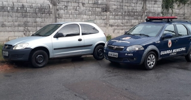 Guarda Municipal localiza veículo roubado