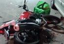 Motoboy sofre acidente na Nove de Julho