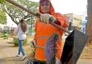 Prefeitura amplia varrição de rua em 300 Km