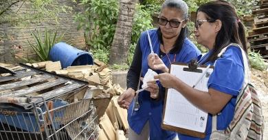 'Xô Dengue' vistoria casas no Novo Horizonte