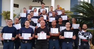 Guardas de Jundiaí são capacitados em patrulhamento motorizado