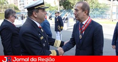 Marinha do Brasil presta homenagem a Miguel Haddad