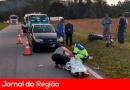 Casal fica ferido em acidente de trânsito