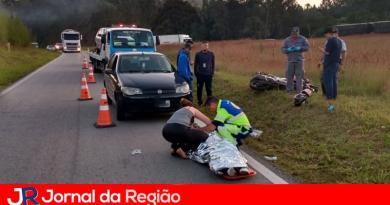Casal continua internado após acidente