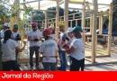 Voluntários constroem capela em Jundiaí