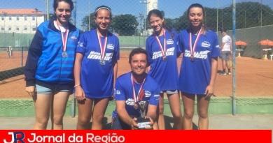 Tênis feminino conquista prata no Jogos da Juventude