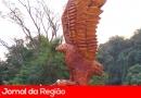 Guarda de Várzea busca ladrões que levaram monumento da Águia