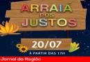 """Bola de Neve promove """"Arraiá dos Justos"""" sábado (20)"""