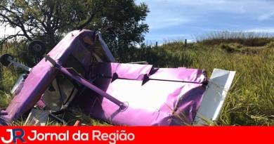 Mais um avião cai em Atibaia