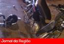 Motos batem de frente em avenida